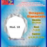 OCTAGONO DIAMANTADO