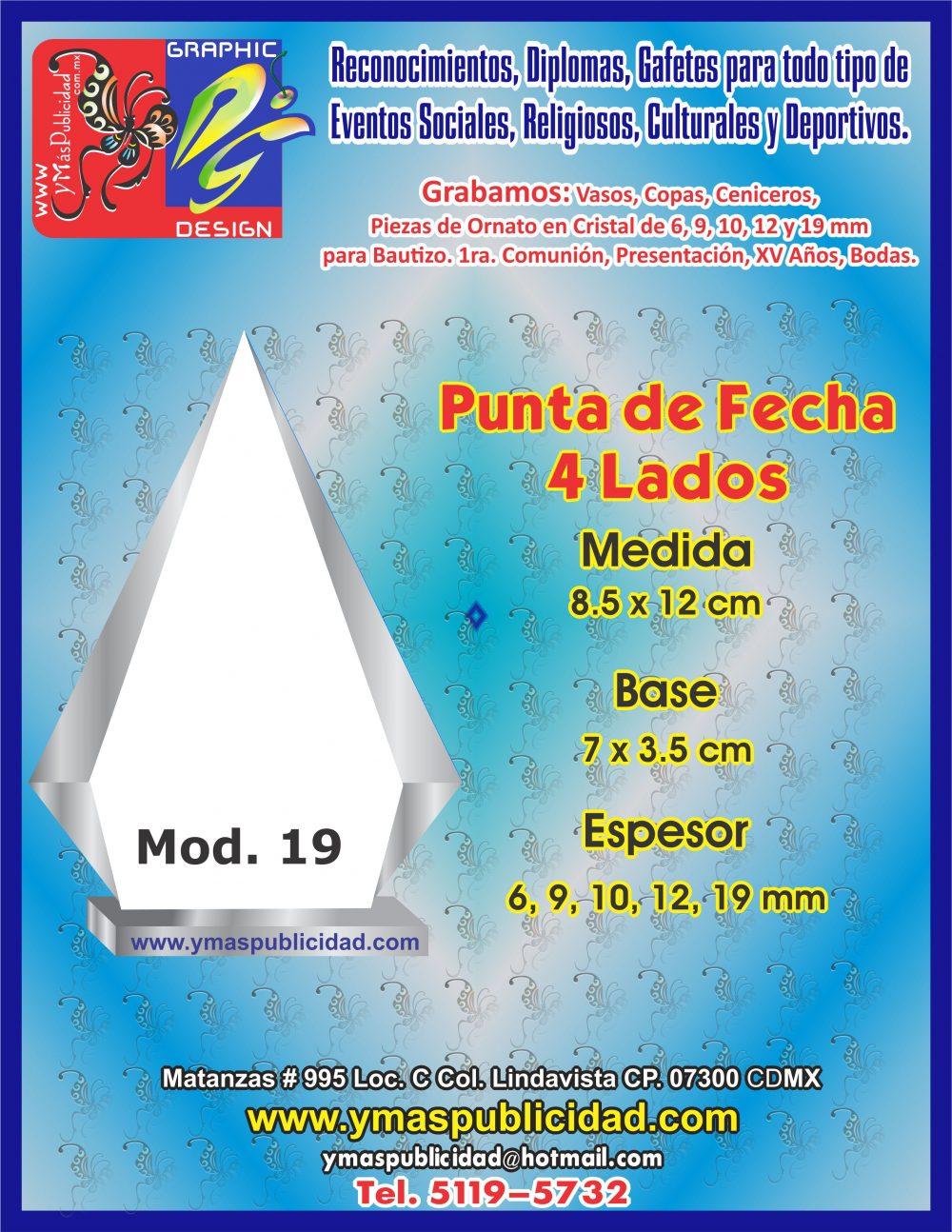 PUNTA DE FLECHA 4 LADOS