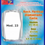 RECT. VERTICAL DIAMANTADA CARTA