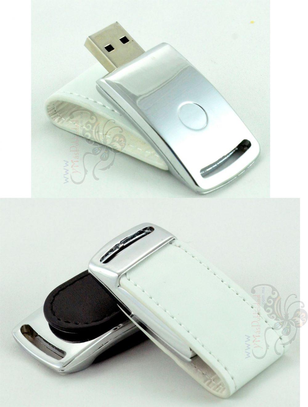 Memoria USB Clip de Piel